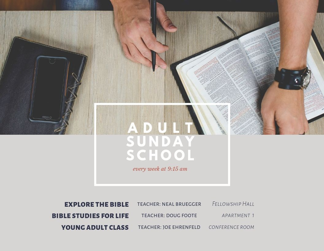 Adult Sunday School – Faith Church