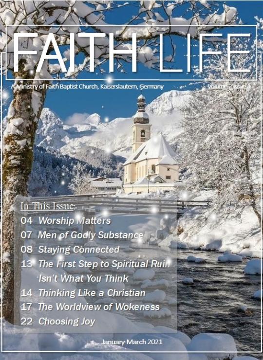 FAITH LIFE Cover 3