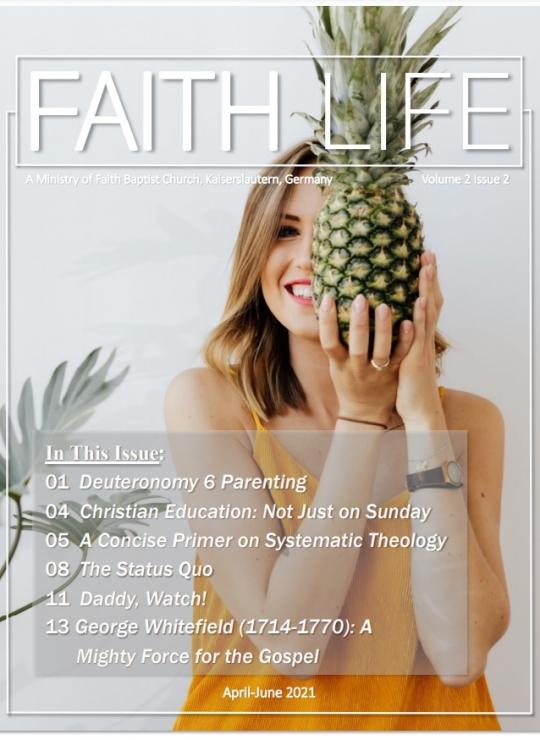 FAITH LIFE Cover - Spring